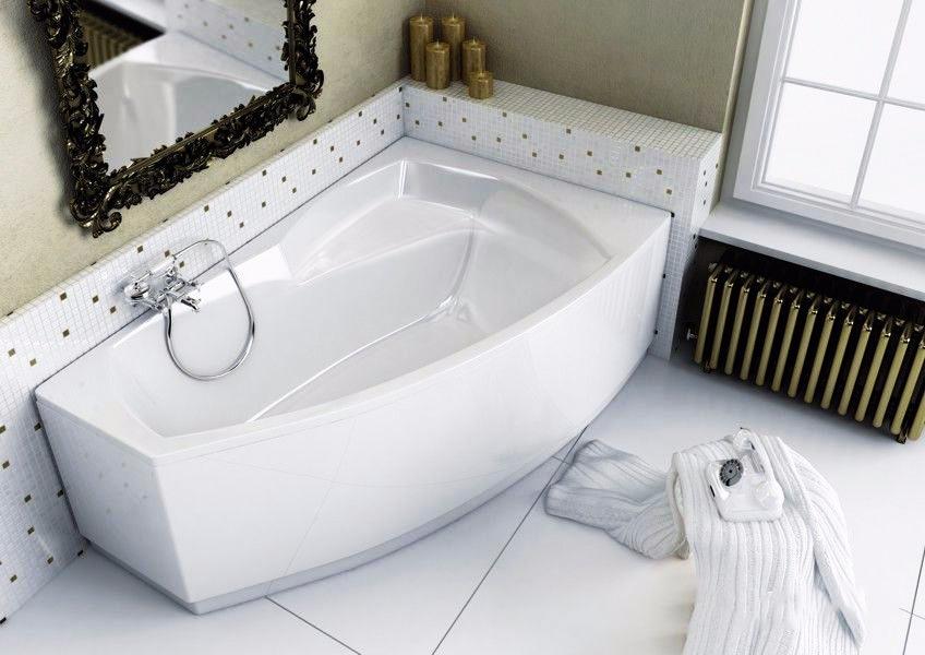 Акриловая ванна «Ассиметричная ванна» (правая)