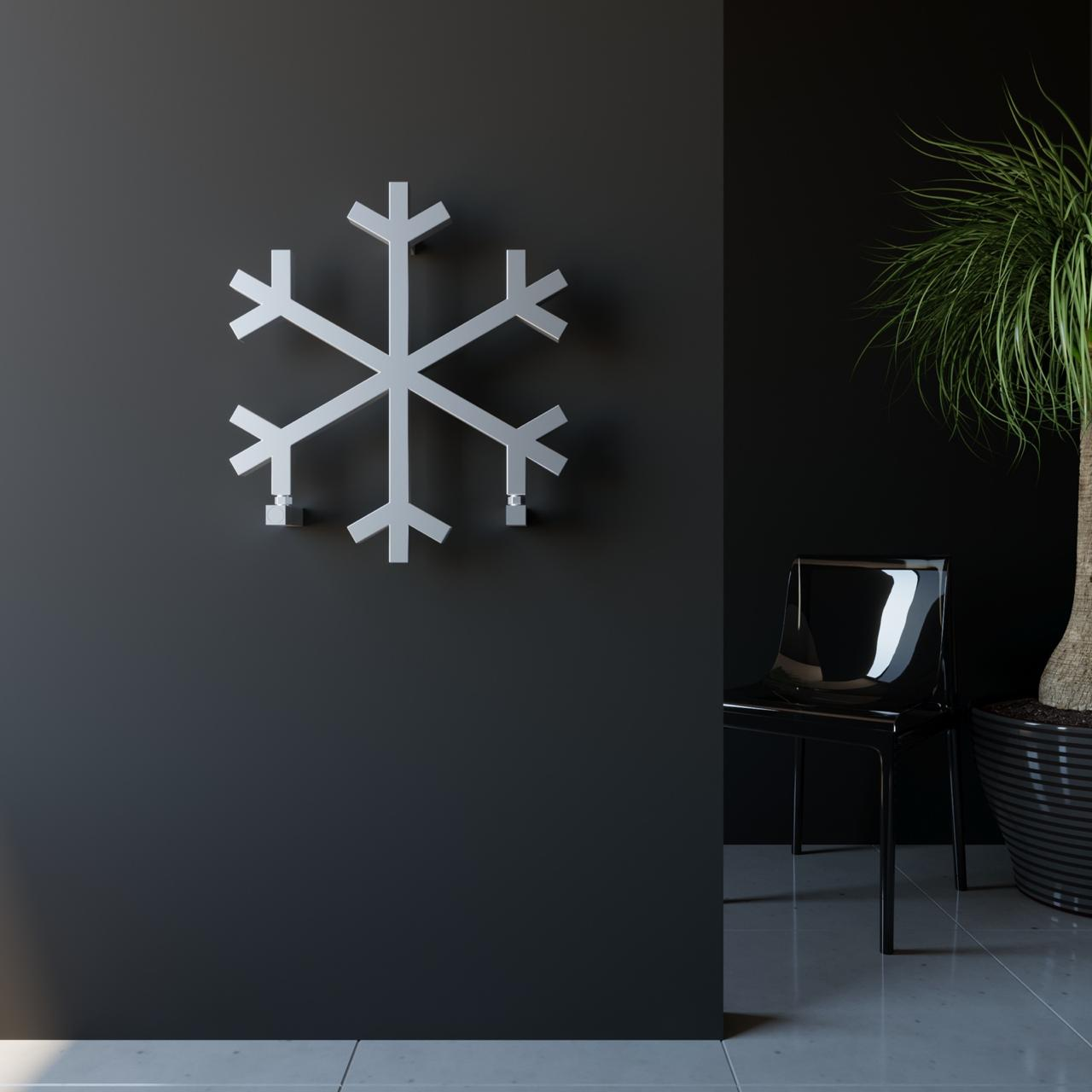 Дизайнерский радиатор Снежинка