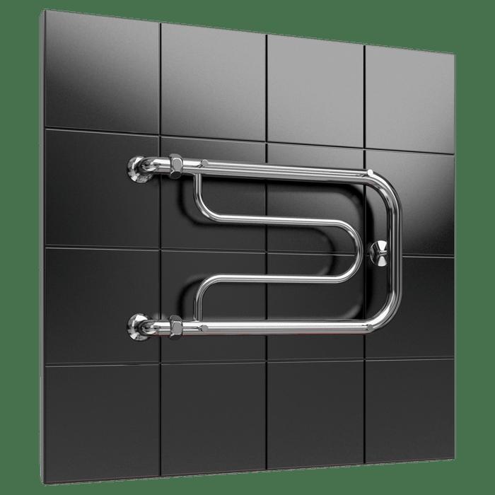 Heated towel rail F5 with shelf
