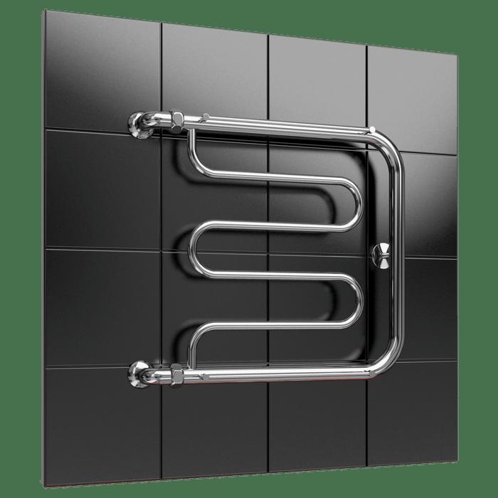 Heated towel rail F1 with shelf