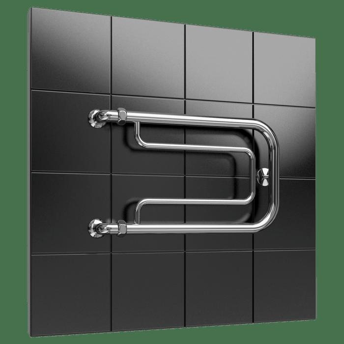 Heated towel rail F6 without shelf