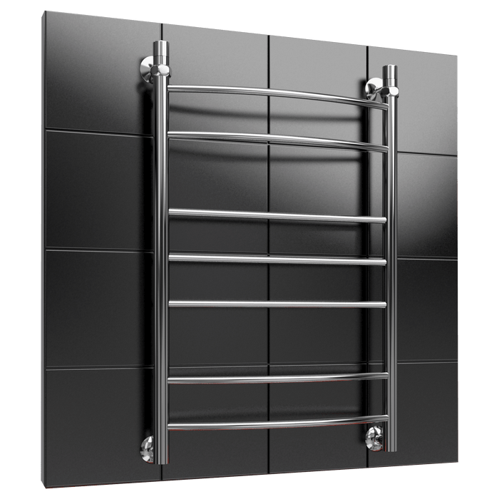Heated towel rail L6 water