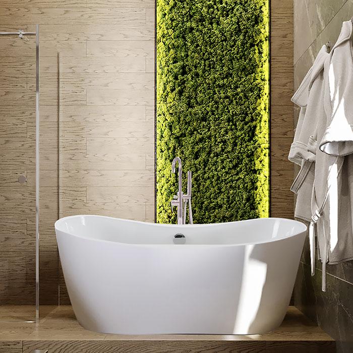 Акриловая ванна «Рикарда»